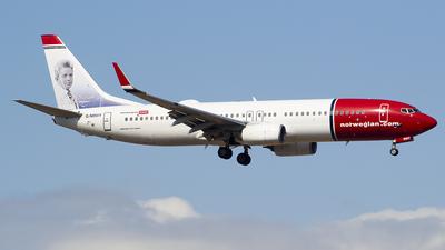 G-NRWY - Boeing 737-8JP - Norwegian