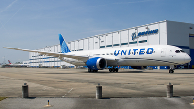 N29985 - Boeing 787-9 Dreamliner - United Airlines