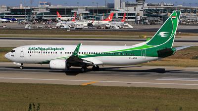 YI-ASR - Boeing 737-81Z - Iraqi Airways
