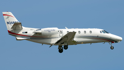 A picture of N248SF - Cessna 560XL Citation Excel - Delta Private Jets - © Rod Dermo