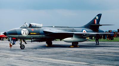 XF527 - Hawker Hunter F.6A - United Kingdom - Royal Air Force (RAF)