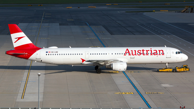 OE-LBE - Airbus A321-211 - Austrian Airlines