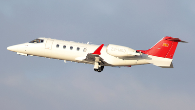 Z3-MKD - Bombardier Learjet 60 - Macedonia - Government