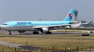 HL7550 - Airbus A330-322 - Korean Air