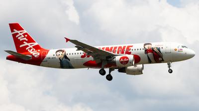 9M-AHE - Airbus A320-216 - AirAsia