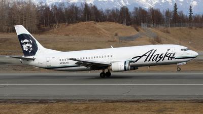 N763AS - Boeing 737-4Q8(C) - Alaska Airlines