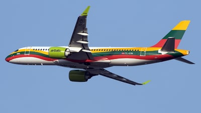 YL-CSK - Airbus A220-371 - Air Baltic