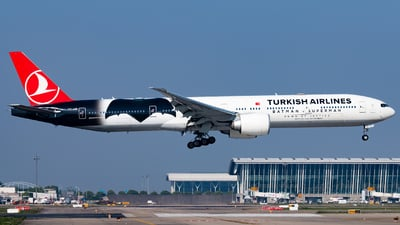 TC-JJN - Boeing 777-3F2ER - Turkish Airlines