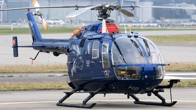 A picture of HBZJF - Eurocopter MBB Bo105 - [13] - © Pier Francesco Baglivo