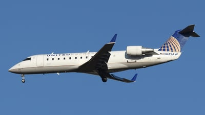 A picture of N415AW - Mitsubishi CRJ200LR - United Airlines - © DJ Reed - OPShots Photo Team