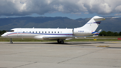 M-BLUE - Bombardier BD-700-1A10 Global 6000	 - Private