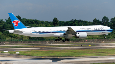 A picture of B20DM - Boeing 777300(ER) - China Southern Airlines - © Howard Wang