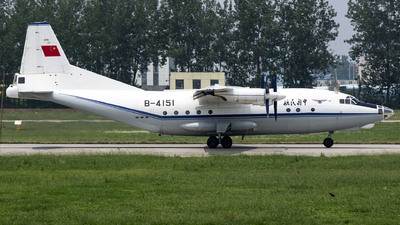 B-4151 - Shaanxi Y-8F-100 - Civil Aviation Administration of China (CAAC)