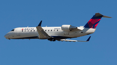 A picture of N886AS - Mitsubishi CRJ200LR - Delta Air Lines - © Jeremy D. Dando