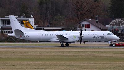 HB-IYA - Saab 2000 - SkyWork Airlines (WDL Aviation)