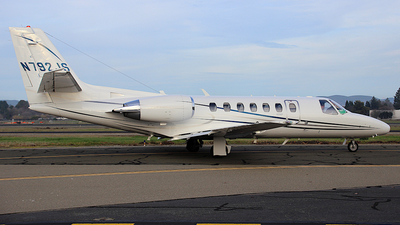 N792JS - Cessna 560 Citation Ultra - Private