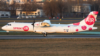 A picture of SPSPF - ATR 72500(F) - Sprint Air - © Witold Salacinski