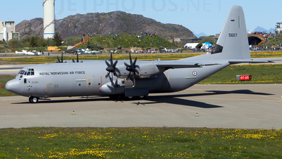 5607 - Lockheed Martin C-130J-30 Hercules - Norway - Air Force