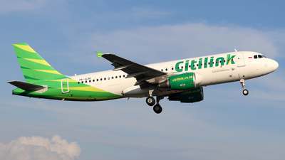 PK-GLM - Airbus A320-214 - Citilink