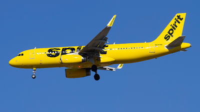 A picture of N696NK - Airbus A320232 - Spirit Airlines - © Jeremy D. Dando
