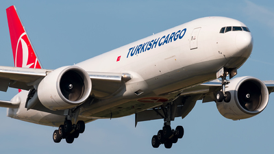 TC-LJP - Boeing 777-FF2 - Turkish Airlines Cargo