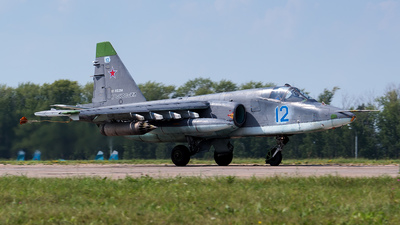 RF-92258 - Sukhoi Su-25SM Frogfoot - Russia - Air Force
