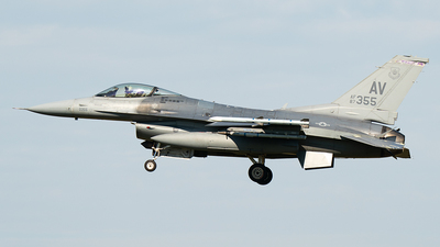 87-0355 - General Dynamics F-16CM Fighting Falcon - United States - US Air Force (USAF)