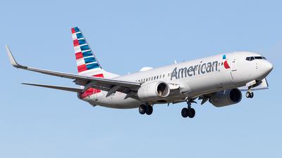 A picture of N808NN - Boeing 737823 - American Airlines - © Felipe Garcia