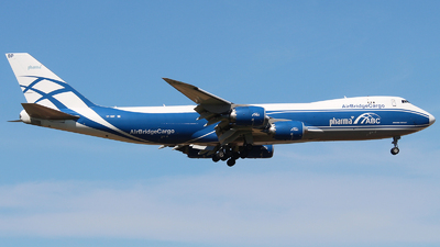 A picture of VPBBP - Boeing 7478HV(F) - AirBridgeCargo Airlines - © Mikhail Tkachuk