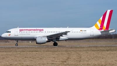 D-AIQB - Airbus A320-211 - Germanwings