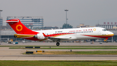 A picture of B604F - Comac ARJ21700 - Chengdu Airlines - © Captain Zhang