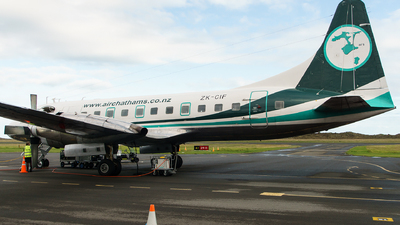 ZK-CIF - Convair CV-580 - Air Chathams