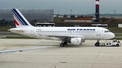 F-GPMA - Airbus A319-113 - Air France