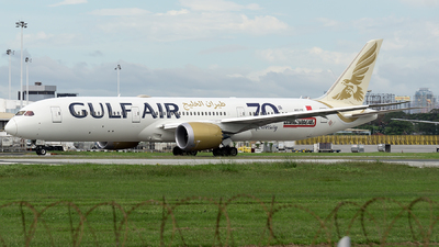 A picture of A9CFE - Boeing 7879 Dreamliner - Gulf Air - © Isaac Apolinario-Philippine Aviators