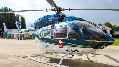 HK-4819 - Eurocopter EC 145 - Helistar Colombia