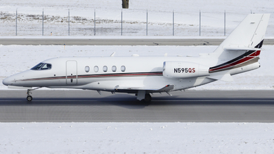 A picture of N595QS - Cessna 680A Citation Latitude - NetJets - © Nick Neiger
