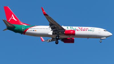 A picture of ECMTV - Boeing 7378K5 - AlbaStar - © Marcello Montagna spotter_napoli