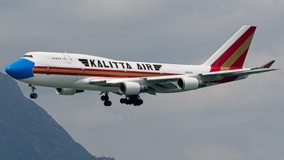 A picture of N744CK - Boeing 747446(BCF) - Kalitta Air - © King Hin Lau