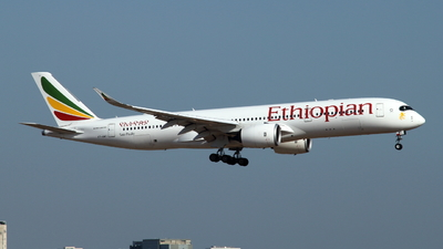 ET-AWO - Airbus A350-941 - Ethiopian Airlines