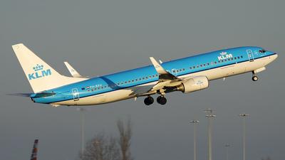 PH-BXU - Boeing 737-8BK - KLM Royal Dutch Airlines