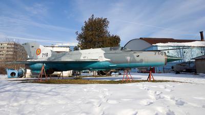 710 - Mikoyan-Gurevich MiG-21M Lancer A - Romania - Air Force
