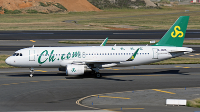 A picture of B1025 - Airbus A320214 - Spring Airlines - © Huang Chengjen