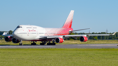EI-XLE - Boeing 747-446 - Rossiya Airlines