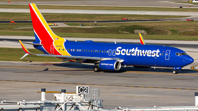 N8525S - Boeing 737-8H4 - Southwest Airlines