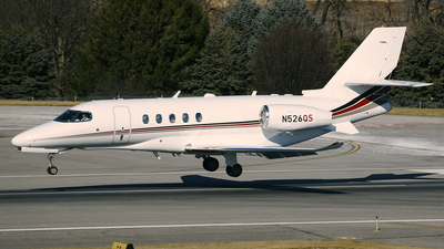 N526QS - Cessna Citation Latitude - NetJets Aviation