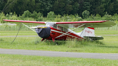 C-GDTY - Aeronca 11CC Super Chief - Private
