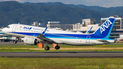 A picture of JA222A - Airbus A320271N - All Nippon Airways - © LUSU