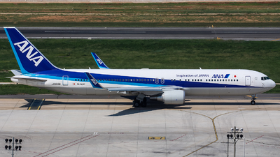 JA619A - Boeing 767-381(ER) - All Nippon Airways (Air Japan)