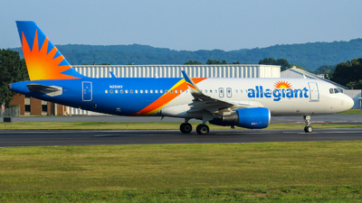 A picture of N251NV - Airbus A320214 - Allegiant Air - © nicholastoto