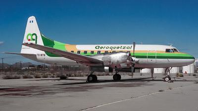 TG-MYM - Convair CV-580 - Aeroquetzal